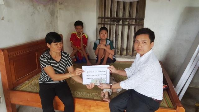 Bạn đọc giúp đỡ gia cảnh chị Nguyễn Thị Len hơn 17 triệu đồng - 1