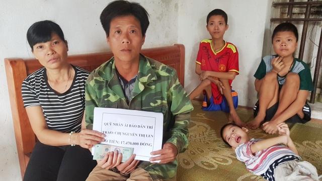 Bạn đọc giúp đỡ gia cảnh chị Nguyễn Thị Len hơn 17 triệu đồng - 2