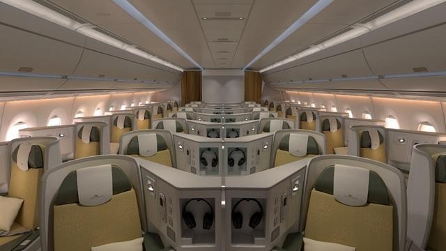 """Việt Nam sở hữu trọn bộ """"siêu máy bay"""" A350 hiện đại nhất thế giới - 3"""
