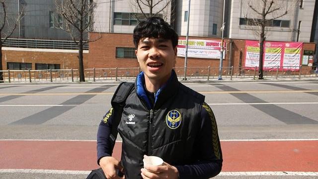 Công Phượng tiết lộ câu chuyện thú vị khi thi đấu ở Hàn Quốc - 1