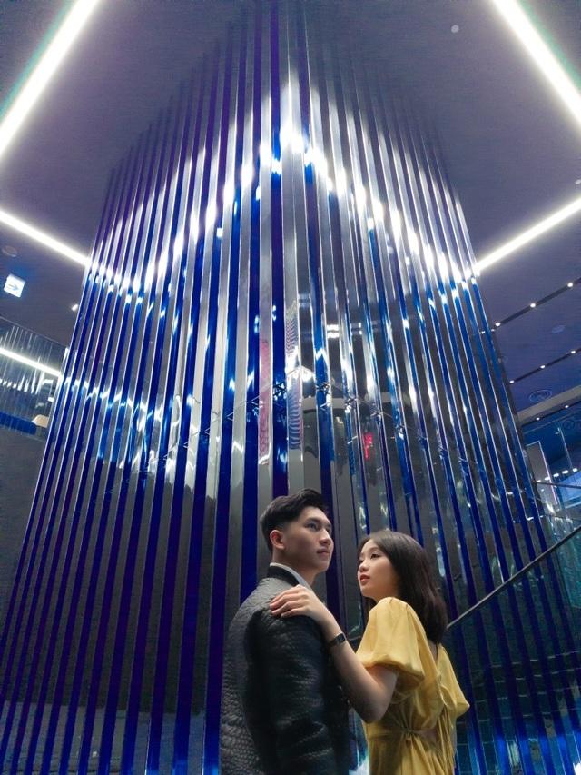 """Check-in """"bức tường xanh"""" sang chảnh bậc nhất Sài Gòn - 3"""