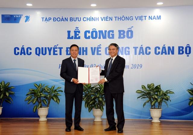Tập đoàn VNPT bổ nhiệm Phó tổng Giám đốc mới - 2