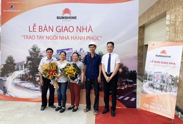Đất Xanh Đông Nam Bộ bàn giao nhà phố Sunshine Residence đúng tiến độ cam kết - 1