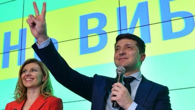 """Giải mã """"hiện tượng"""" Vladimir Zelensky trong cuộc bầu cử Ukraine - 1"""