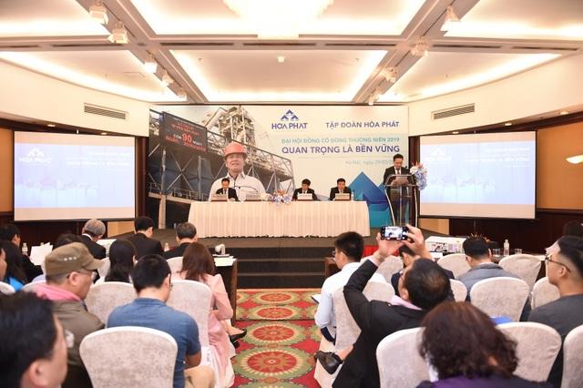 Hòa Phát đặt mục tiêu doanh thu 70.000 tỷ đồng cho năm 2019 - 2
