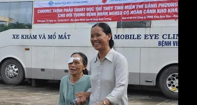 """5000 người sẽ được phẫu thuật mắt miễn phí ở """"bệnh viện"""" lưu động - 1"""