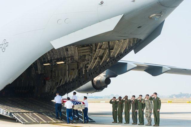 Việt Nam trao trả thêm hài cốt quân nhân Hoa Kỳ - 1