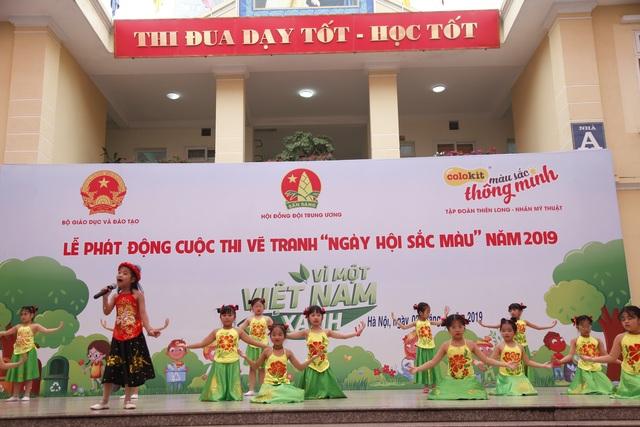 Giải thưởng 200 triệu đồng dành cho cuộc thi vẽ tranh thiếu nhi Vì một Việt Nam xanh - 1