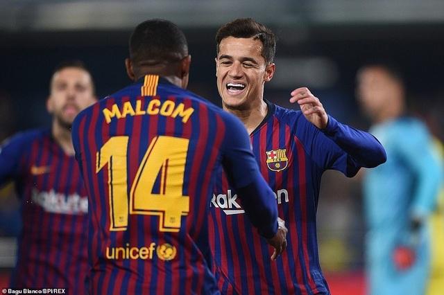 Villarreal 4-4 Barcelona: Messi, Suarez ghi bàn ở phút bù giờ - 4
