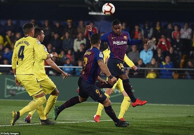Villarreal 4-4 Barcelona: Messi, Suarez ghi bàn ở phút bù giờ - 10