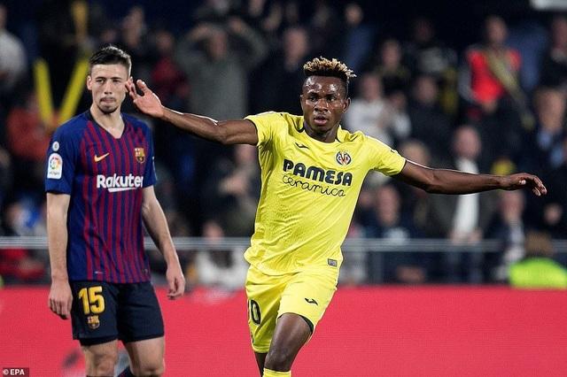 Villarreal 4-4 Barcelona: Messi, Suarez ghi bàn ở phút bù giờ - 5