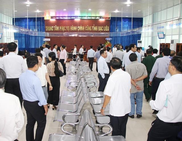 Bạc Liêu đưa vào hoạt động Trung tâm phục vụ hành chính công hơn 8 tỷ đồng - 2
