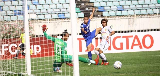 Cầu thủ B.Bình Dương lập siêu phẩm tại AFC Cup - 1