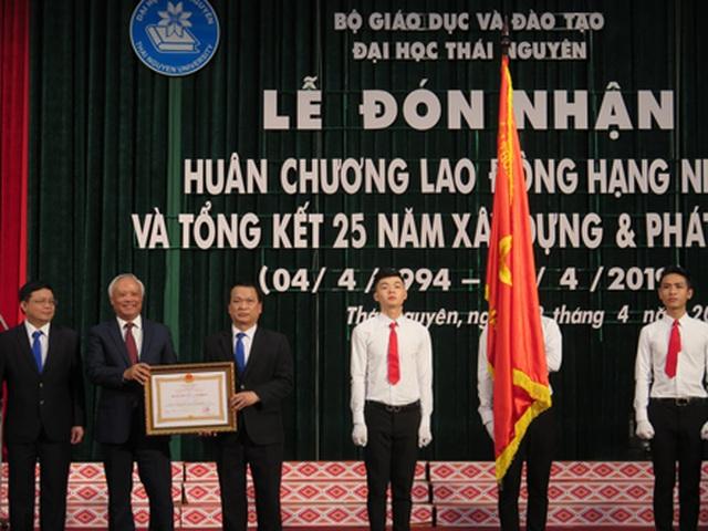 Đại học Thái Nguyên đón nhận Huân chương lao động hạng Nhất - 2