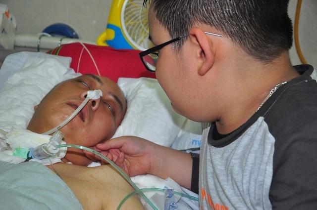 Đột nhiên bị chảy máu não, tính mạng người bố trẻ nguy kịch trong tiếng gọi thảm thiết của con - 4