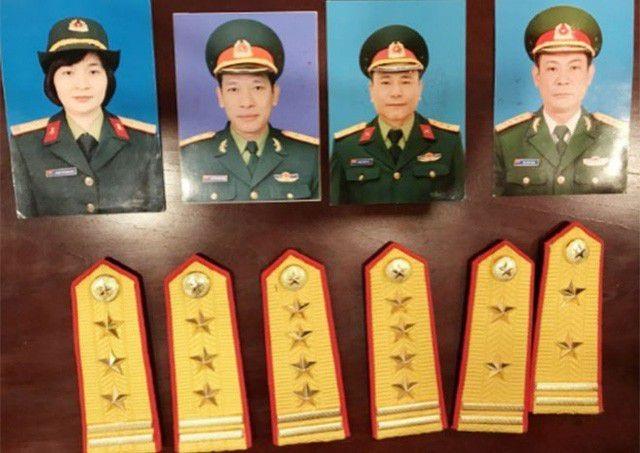 Bắt giữ nữ nhân viên văn phòng luật đội lốt Đại tá quân đội  - 2