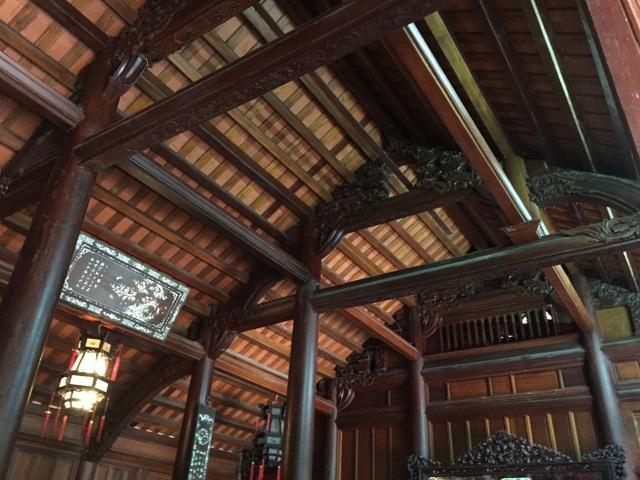 Trầm trồ nhà gỗ bạc tỷ từng bậc nhất miền Bắc - 5