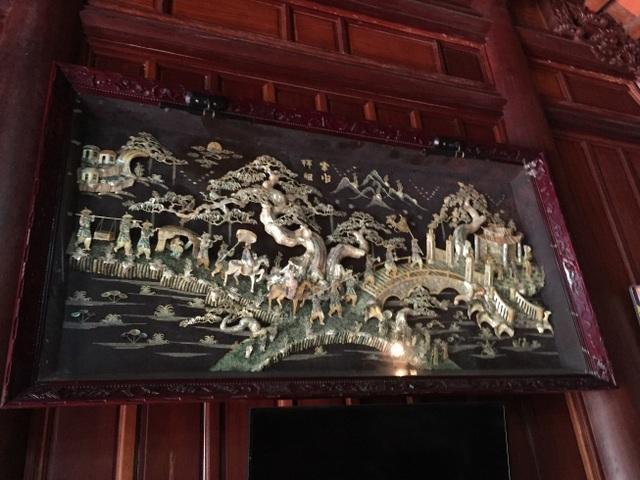 Trầm trồ nhà gỗ bạc tỷ từng bậc nhất miền Bắc - 8