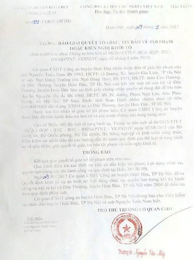 """Nguyên chủ tịch huyện Hoài Đức ký cấp sổ đỏ cho """"đất ma"""": Lộ diện hàng loạt cán bộ bị khởi tố - 6"""
