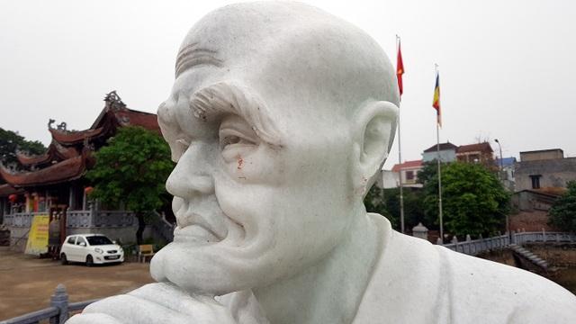 Hà Nội: Hơn chục pho tượng La Hán bị đập phá trong vườn chùa - 6