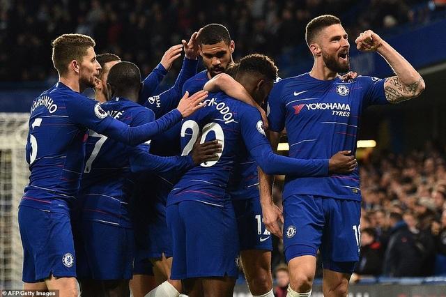Thắng dễ dàng Brighton, Chelsea giành vị trí thứ năm từ Man Utd - 2