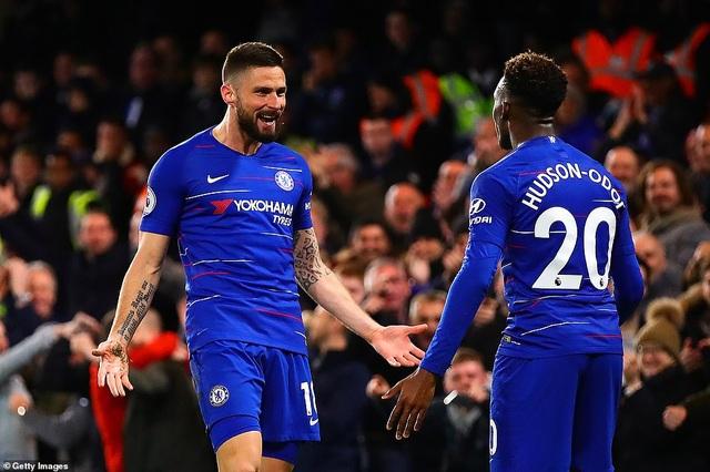 Thắng dễ dàng Brighton, Chelsea giành vị trí thứ năm từ Man Utd - 1
