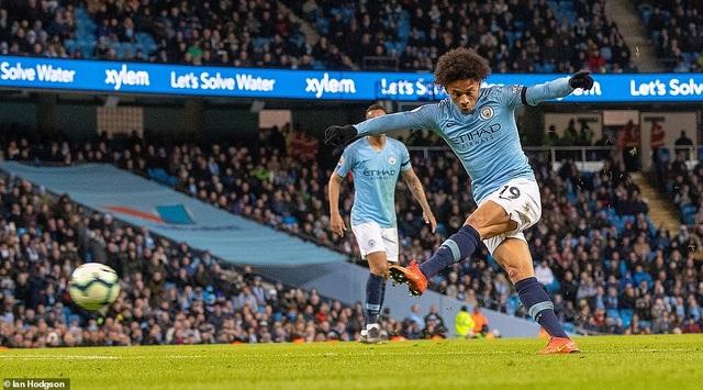 De Bruyne, Sane tỏa sáng, Man City trở lại ngôi đầu bảng - 3
