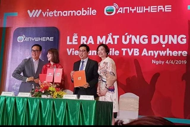 Vietnammobile ra mắt ứng dụng xem phim truyền hình TVB trên Smartphone - 1