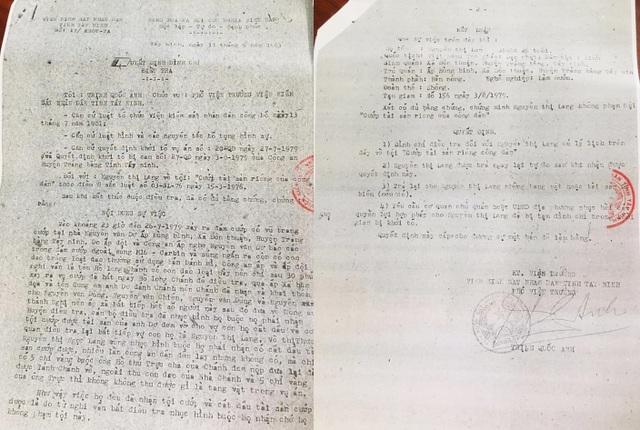 """Hy hữu: Quyết định đình chỉ điều tra 7 người bị """"quên"""" suốt... 36 năm - 2"""