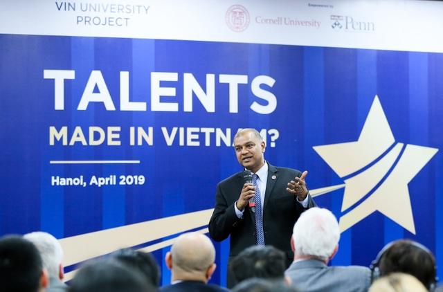 Dự án trường ĐH VinUni công bố Hiệu trưởng đầu tiên và mục tiêu xây dựng ĐH xuất sắc tại Việt Nam - 2