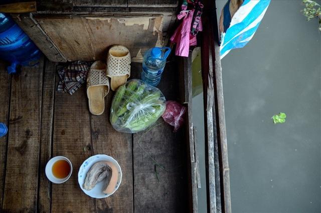 Cuộc sống trên thuyền của người lao động nhập cư tại Hà Nội - 12