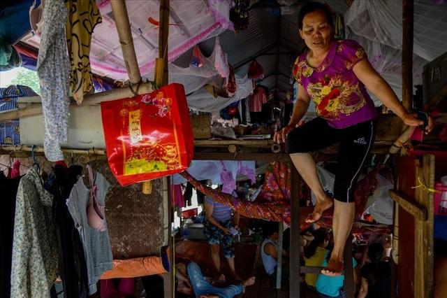 Cuộc sống trên thuyền của người lao động nhập cư tại Hà Nội - 3