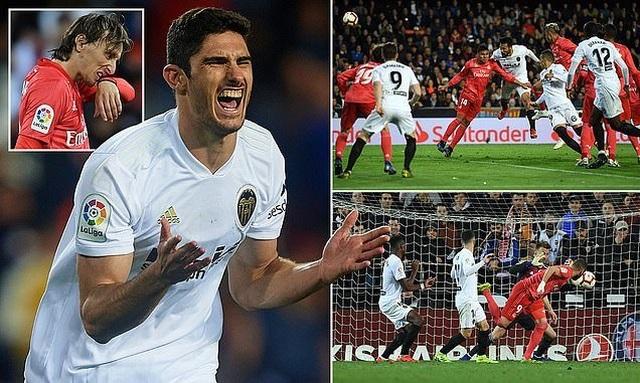 Valencia 2-1 Real Madrid: Nỗi thất vọng của HLV Zidane - 2