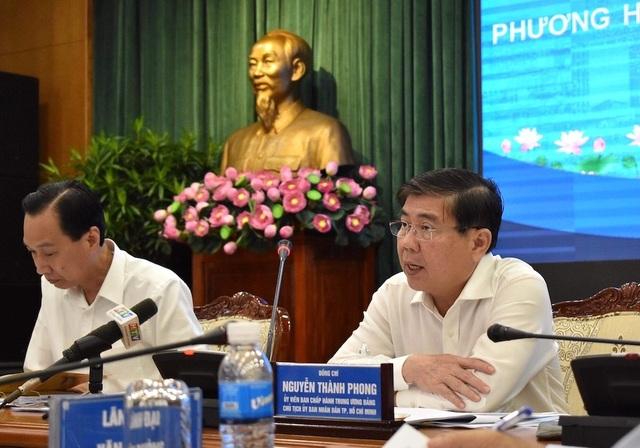 Chủ tịch TPHCM thông tin về nhân sự lãnh đạo - 1