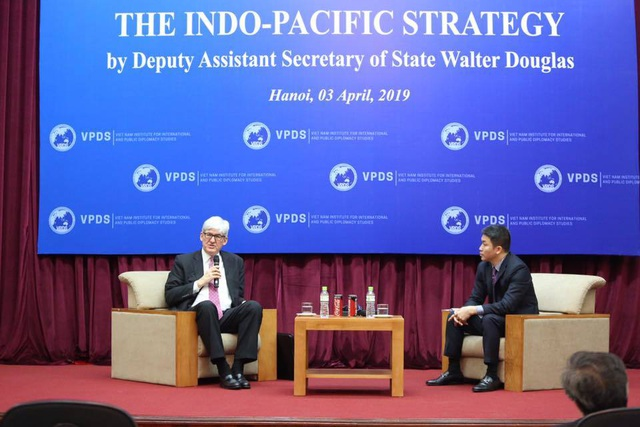 """Chiến lược """"kiềng 3 chân"""" của Mỹ ở Ấn Độ-Thái Bình Dương - 1"""