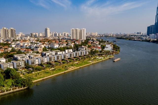 Khắc họa phong cách sống thượng lưu tại biệt thự ven sông Sài Gòn - 2