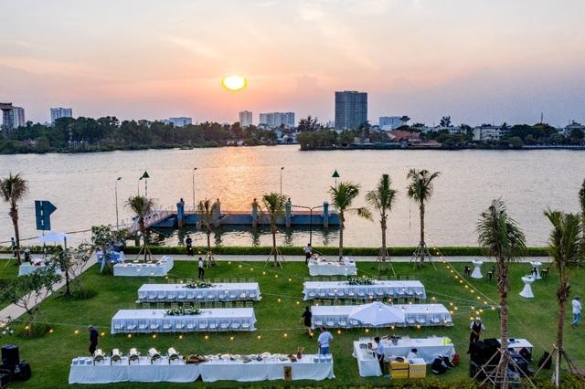 Khắc họa phong cách sống thượng lưu tại biệt thự ven sông Sài Gòn - 3