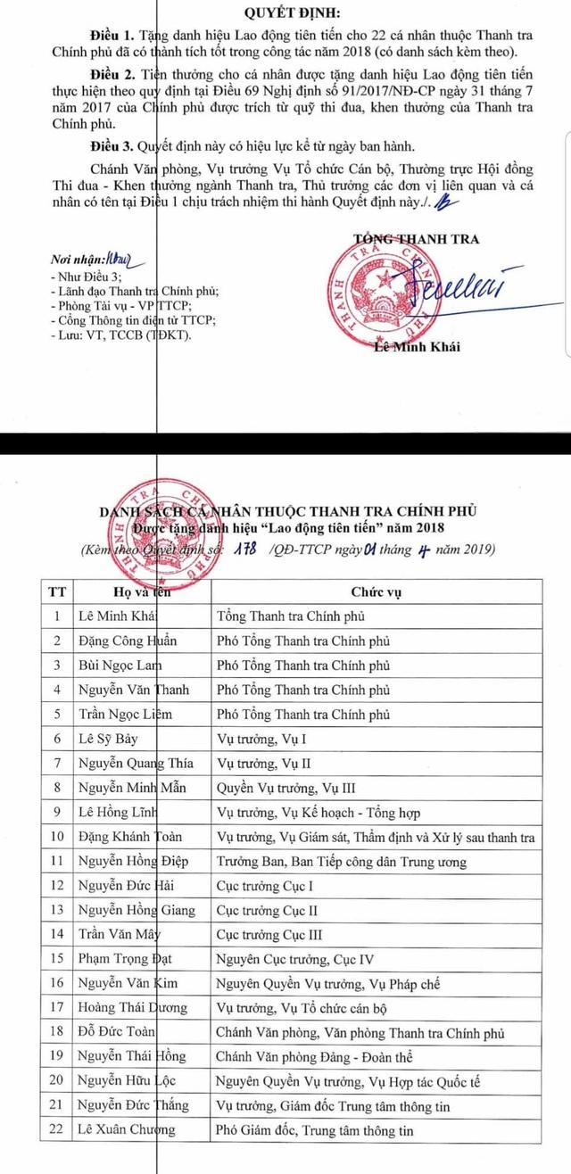 Đang bị xem xét kỷ luật, ông Nguyễn Minh Mẫn vẫn được tặng Lao động tiên tiến - 1