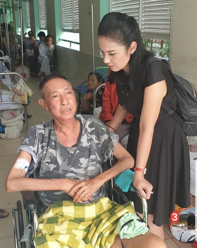 Nghệ sĩ Lê Bình bị ung thư di căn vào tuỷ, liệt nửa người, phải ngồi xe lăn - 2