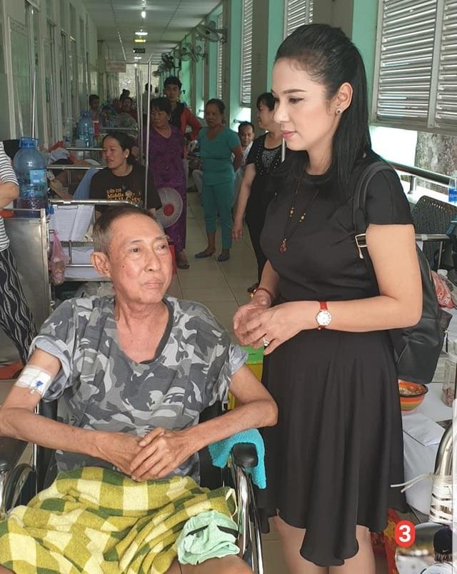 Nghệ sĩ Lê Bình bị ung thư di căn vào tuỷ, liệt nửa người, phải ngồi xe lăn - 1