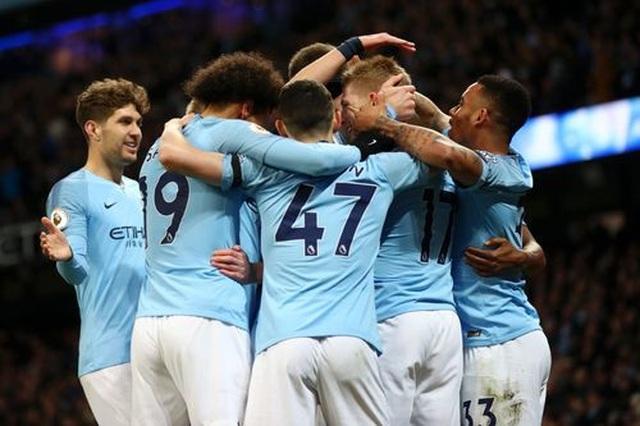 Những khoảnh khắc Man City vượt qua Cardiff để trở lại ngôi đầu bảng - 5