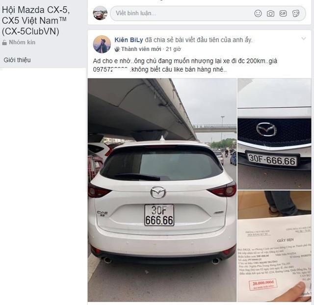 Mazda CX-5 biển ngũ quý 6 rao giá hơn 3 tỷ - 5