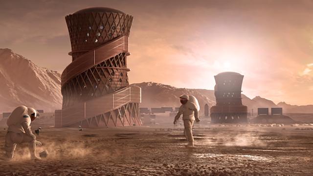 """NASA hé lộ """"ngôi nhà"""" đặc biệt của con người khi lên sao Hoả - 1"""