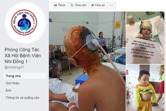 """Mạo danh fanpage của bệnh viện để """"câu"""" tiền từ thiện - 2"""