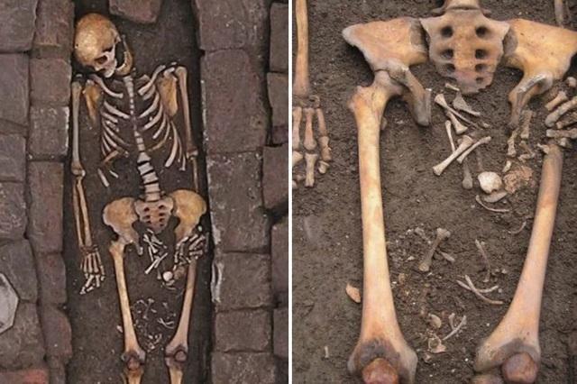 Phát hiện hài cốt của hai mẹ con thời Trung cổ - 1