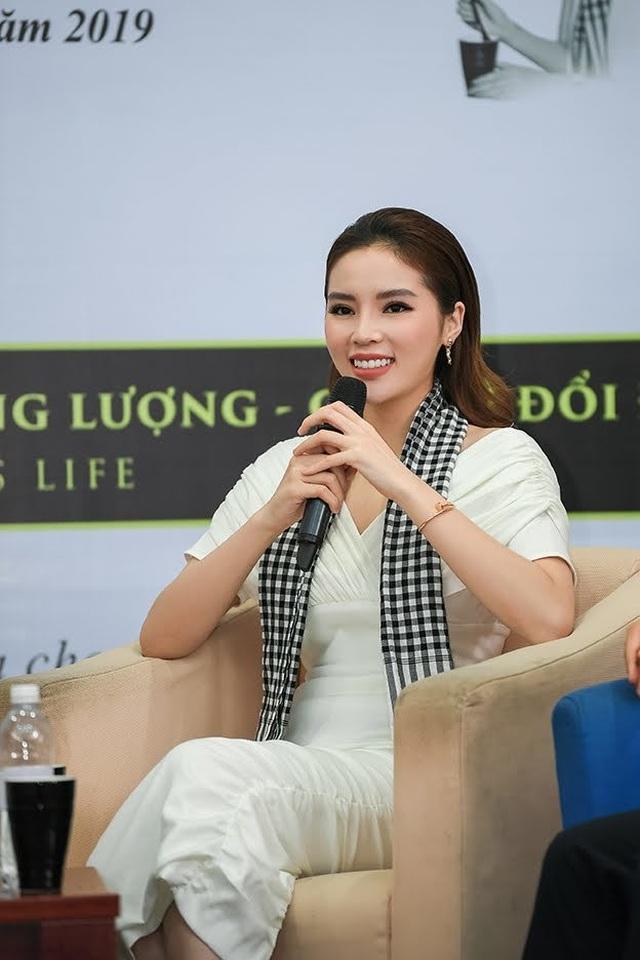 Hoa hậu Kỳ Duyên tiết lộ động lực giúp vượt qua chông gai - 6