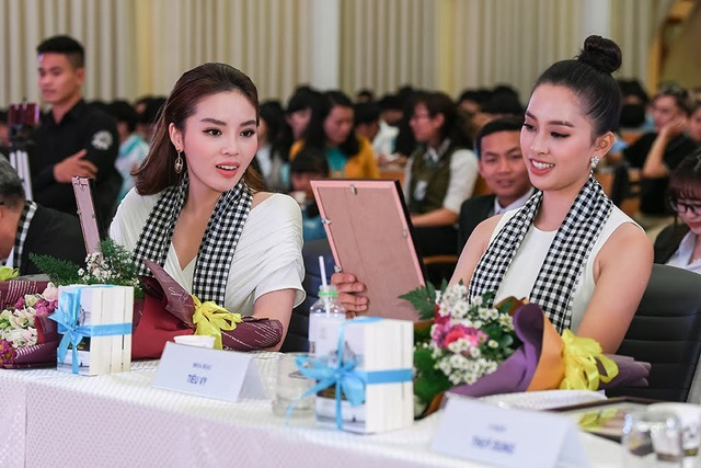 Hoa hậu Kỳ Duyên tiết lộ động lực giúp vượt qua chông gai - 8