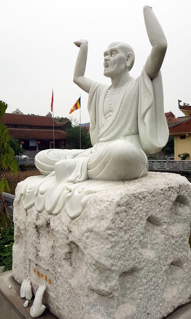 Sở Văn hóa đề nghị làm rõ thông tin 16 bức tượng tại chùa Khánh Long bị phá hoại - 2