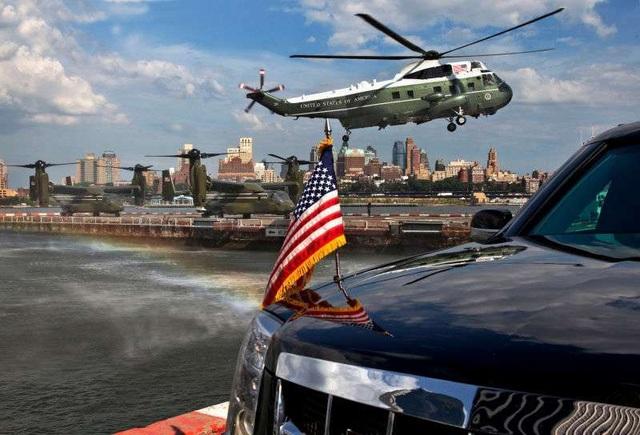 Ngày thường, đoàn xe hộ tống Tổng thống Mỹ Donald Trump di chuyển như thế nào? - 4