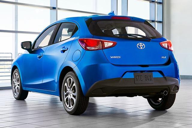 """Toyota """"mượn"""" Mazda2 cho Yaris tại thị trường Bắc Mỹ - 3"""